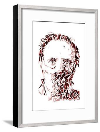 Hannibal Lecter-Cristian Mielu-Framed Premium Giclee Print