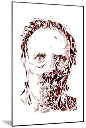 Hannibal Lecter-Cristian Mielu-Mounted Premium Giclee Print