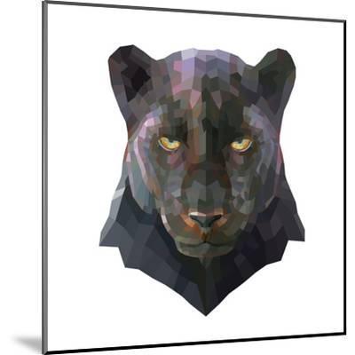 Panther-Lora Kroll-Mounted Art Print