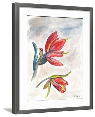 Indian Paint Brush-Jennifer Redstreake Geary-Framed Art Print