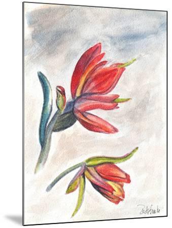 Indian Paint Brush-Jennifer Redstreake Geary-Mounted Art Print