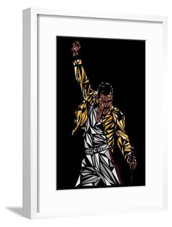 Freddie Mercury-Cristian Mielu-Framed Premium Giclee Print