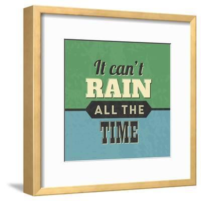 It Can't Rain All the Time-Lorand Okos-Framed Art Print