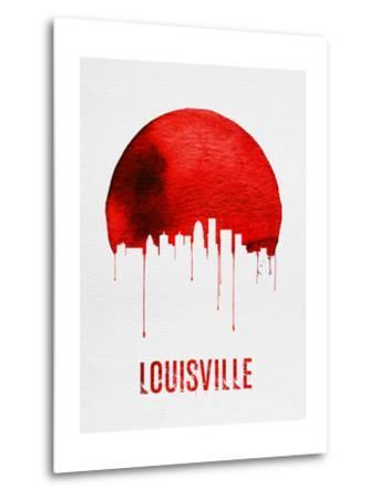 Louisville Skyline Red--Metal Print