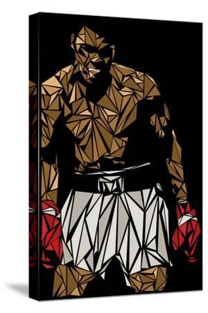 Muhammad Ali-Cristian Mielu-Stretched Canvas Print