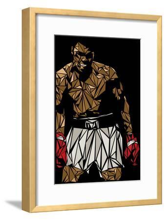Muhammad Ali-Cristian Mielu-Framed Premium Giclee Print