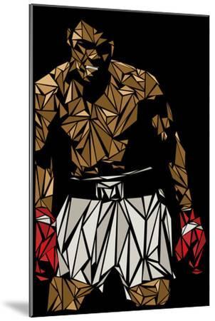Muhammad Ali-Cristian Mielu-Mounted Premium Giclee Print