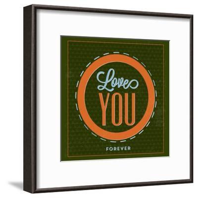 Love You Forever 1-Lorand Okos-Framed Art Print