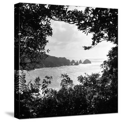 A View of Jerbourg Point 1965-Staff-Stretched Canvas Print