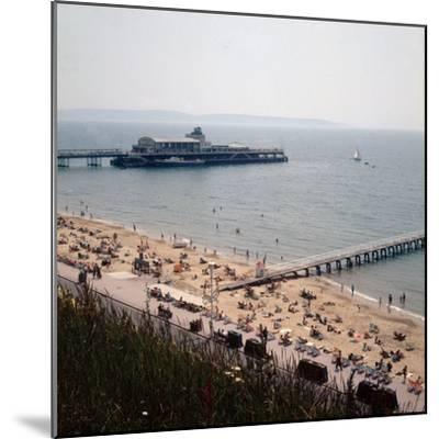The Pier at Bournemouth 1971- Library-Mounted Photographic Print
