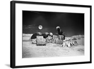 Dr Who, the Web Planet, 1965-Alisdair Macdonald-Framed Photographic Print