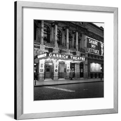 Garrick Theatre 1958-Staff-Framed Photographic Print