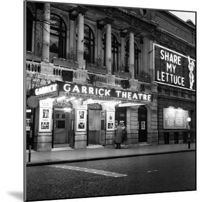 Garrick Theatre 1958-Staff-Mounted Photographic Print