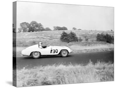 Daily Herald Race Meeting 1955-Hicklin Barham and-Stretched Canvas Print
