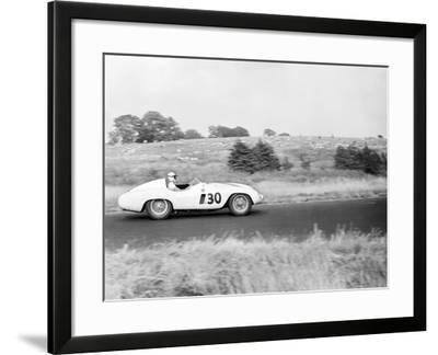 Daily Herald Race Meeting 1955-Hicklin Barham and-Framed Photographic Print