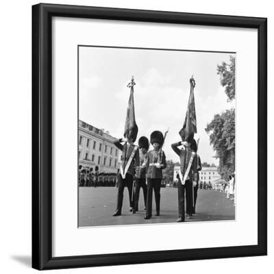 The Coldstream Guards 1959-Montie Fresco-Framed Photographic Print
