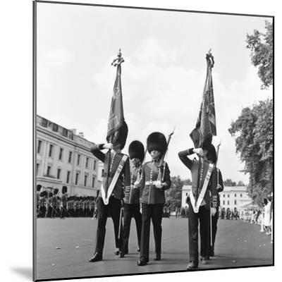 The Coldstream Guards 1959-Montie Fresco-Mounted Photographic Print