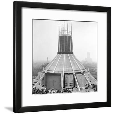 Liverpool Cathedral-Staff-Framed Photographic Print