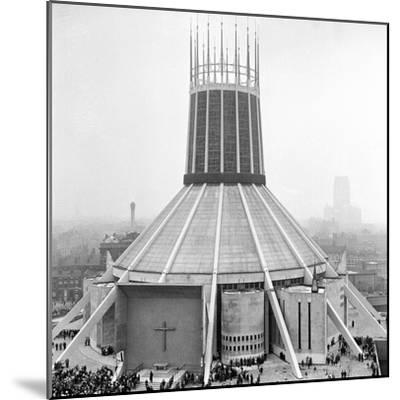 Liverpool Cathedral-Staff-Mounted Photographic Print