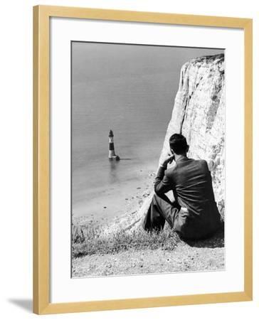 Beachy Head 1936-Sunday Mirror-Framed Photographic Print