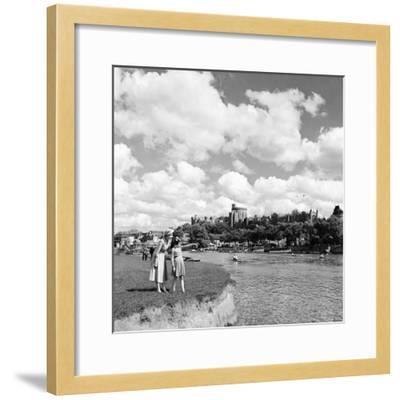 Windsor Castle, Berkshire, 1952-Staff-Framed Photographic Print
