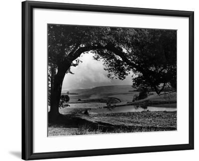Craigallian Loch 1956-Daily Record-Framed Photographic Print