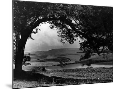 Craigallian Loch 1956-Daily Record-Mounted Photographic Print
