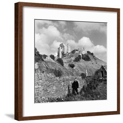 Corfe Castle, 1952-Unknown-Framed Photographic Print