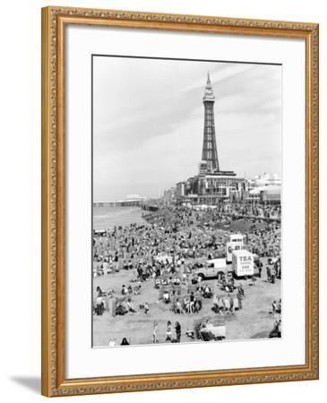 Blackpool tower, 1894-Unknown-Framed Photographic Print