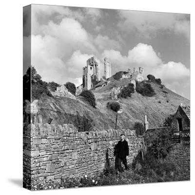 Corfe Castle, 1952-Unknown-Stretched Canvas Print