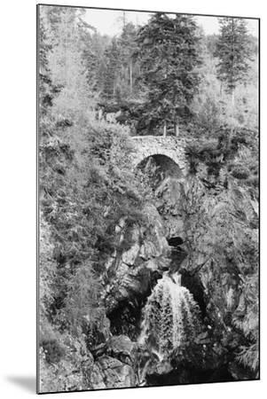 View of the Falls of Bruar in Perthshire, Scotland. Circa 1960-Howard Jones-Mounted Photographic Print
