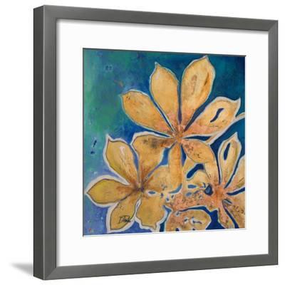 Fiori d' Oro I-Patricia Pinto-Framed Art Print