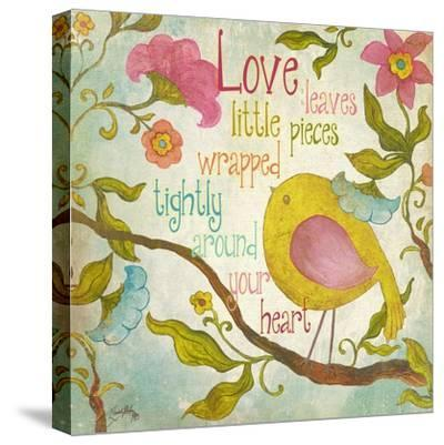 Your Heart-Elizabeth Medley-Stretched Canvas Print