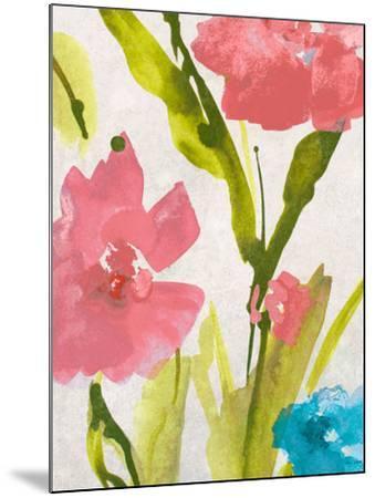 Blue and Pink Povat II-Lanie Loreth-Mounted Premium Giclee Print