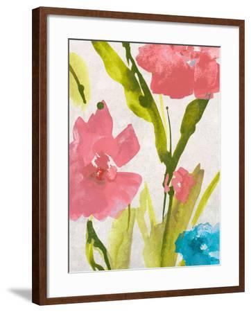 Blue and Pink Povat II-Lanie Loreth-Framed Premium Giclee Print