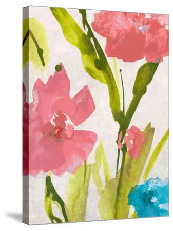 Blue and Pink Povat II-Lanie Loreth-Stretched Canvas Print