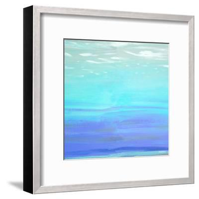 Aquatic Abstract-Dan Meneely-Framed Art Print