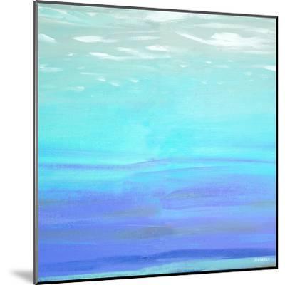 Aquatic Abstract-Dan Meneely-Mounted Art Print