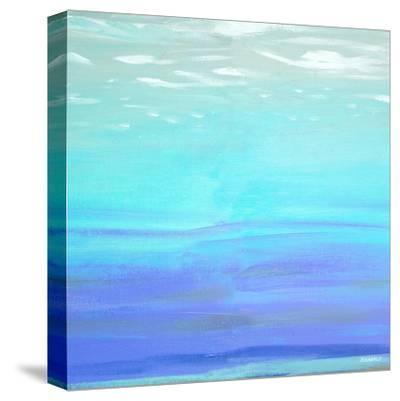 Aquatic Abstract-Dan Meneely-Stretched Canvas Print