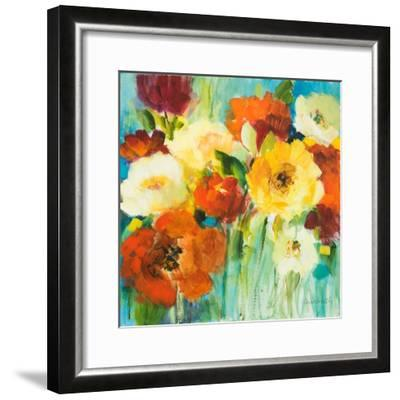 Flower Power II-Lanie Loreth-Framed Premium Giclee Print