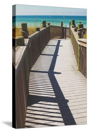 Coast Dock I-Susan Bryant-Stretched Canvas Print