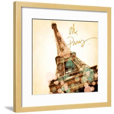 Oh Paris-Emily Navas-Framed Premium Giclee Print