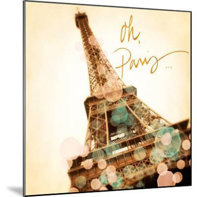 Oh Paris-Emily Navas-Mounted Premium Giclee Print