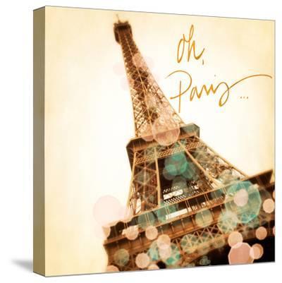 Oh Paris-Emily Navas-Stretched Canvas Print