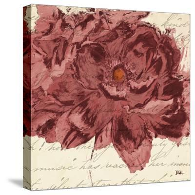 Marsala Peonies Square II-Patricia Pinto-Stretched Canvas Print