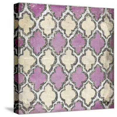 Purple Modele IV-Elizabeth Medley-Stretched Canvas Print