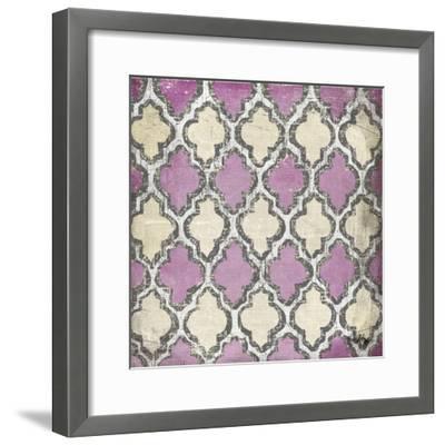 Purple Modele IV-Elizabeth Medley-Framed Art Print