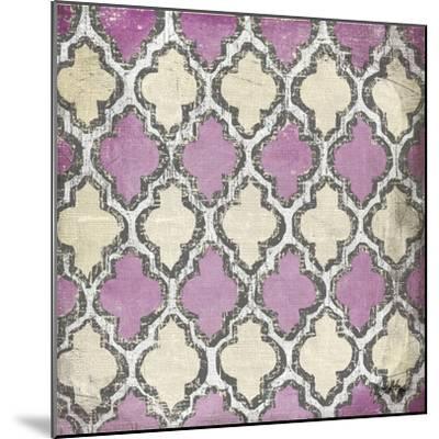 Purple Modele IV-Elizabeth Medley-Mounted Art Print
