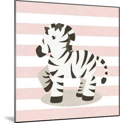 Happy Baby Animals II-SD Graphics Studio-Mounted Art Print