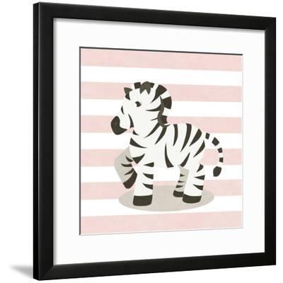 Happy Baby Animals II-SD Graphics Studio-Framed Art Print
